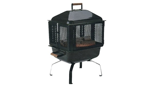Decorative Firepit Mesh