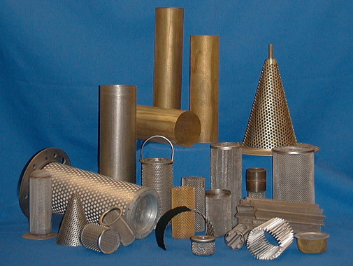 Cylindrical and Conical Wire Mesh Filters