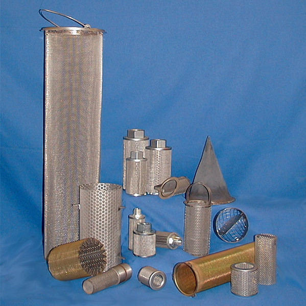 Wire Mesh Cylinder and Cone Filters