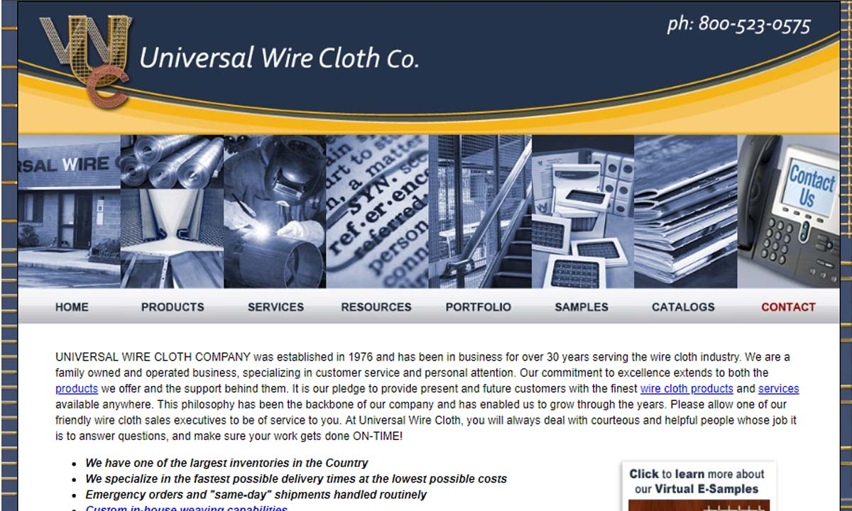 Universal Wire Cloth Company