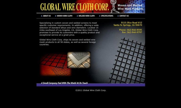 Global Wire Cloth Corp.