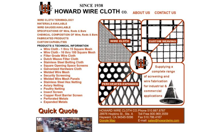 Howard Wire Cloth Co.