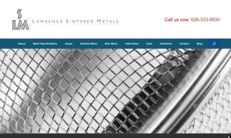 Lawrence Sintered Metals, Inc.