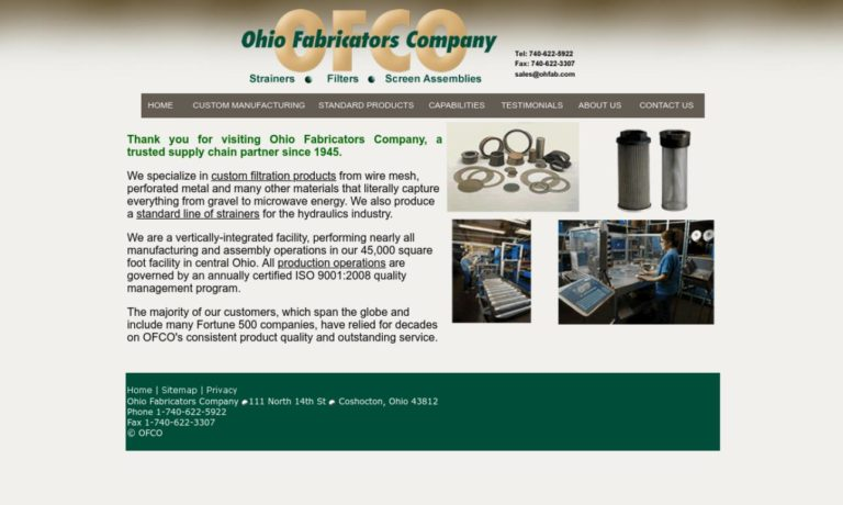 Ohio Fabricators Company
