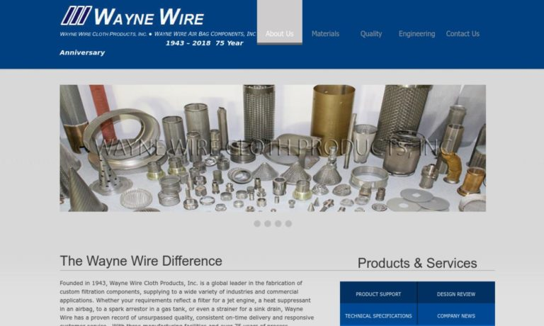 Wayne Wire Cloth Products, Inc.
