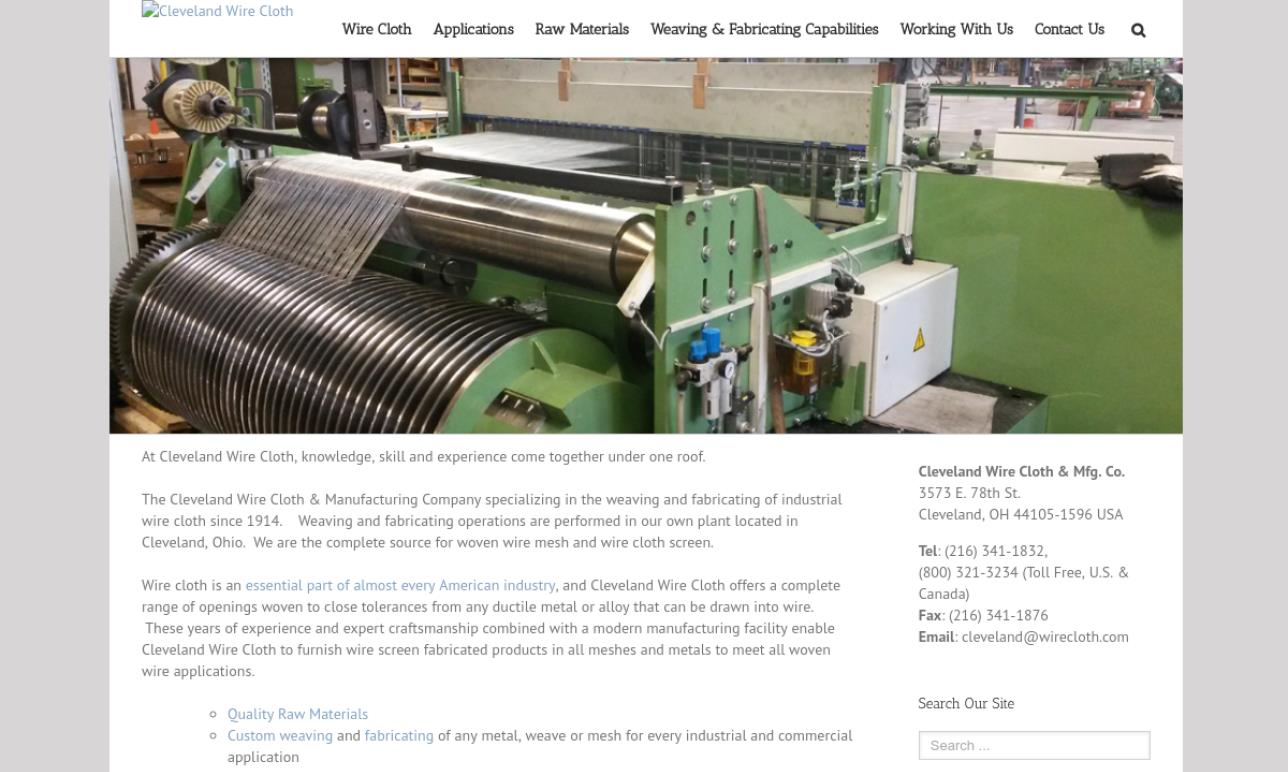 Cleveland Wire Cloth & Manufacturing Company