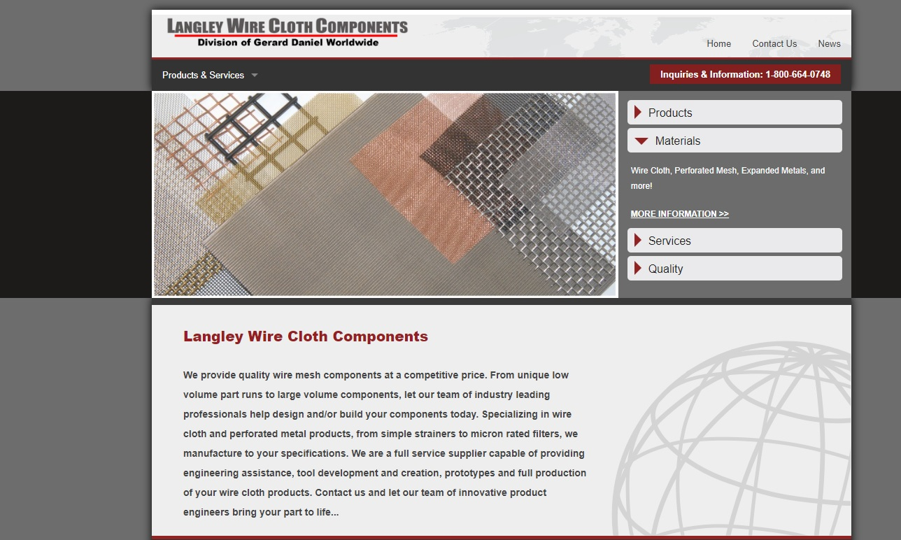 Langley Wire Cloth Components, Inc.