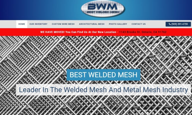 Best Welded Mesh